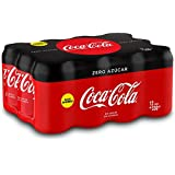 Coca-Cola - Zero, Lata 330 ml (Pack de 12)