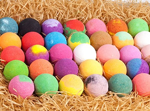 Bulk Bath Bomb Gift Set - 42 Bath Bombs for Kids, Women & Men! Ultra Lush Bath Bombs Perfect Gift Set for Women! by La Bombe (Image #1)