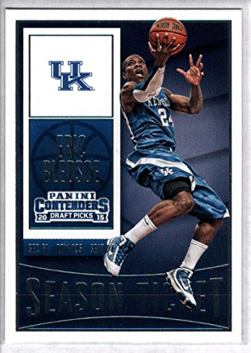 2015-16 Contenders Draft Picks Season Ticket Basketball #33 Eric Bledsoe Kentucky Wildcats Official NCAA Trading Card made by Panini