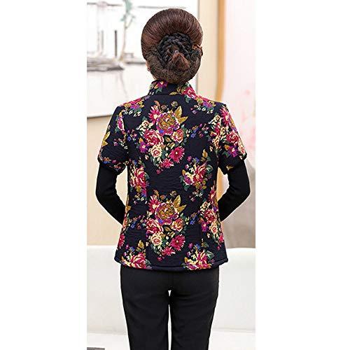 Gilets Style Capuche Manteaux Poches 8 Coton Veste Taille Automne Femmes Mid Hiver Gilet Xl Avec En 5xl Manches Zippée À Grande Xfentech RvEwqgPfx