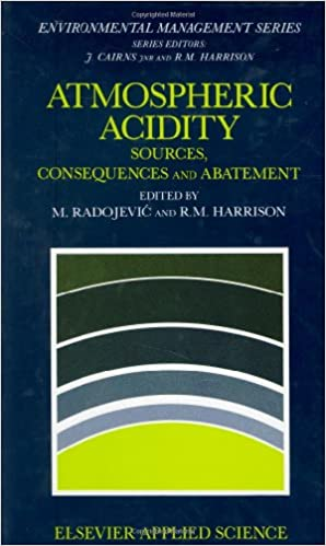Atmospheric Acidity: Sources, consequences and abatement (Environmental Management)