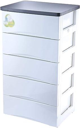 Gabinete de almacenamiento, Hogar, Armario Infantil, Espesado Cajón, Cómoda, Plástico De 57 × 41,8 × 98cm ZHAOSHUNLI 1123: Amazon.es: Hogar