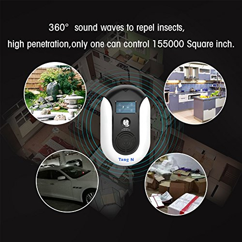 TangN Pest Repellent,Ultrasonic Pest Control Mouse Plug in,Indoor Outdoor Electronic Control Rodent,Mosquito,Insect,Roach,Spider,Ant,Rat And Flea,Safe Control NO Chemicals Ultrasonic Pest Repeller. by TangN (Image #5)