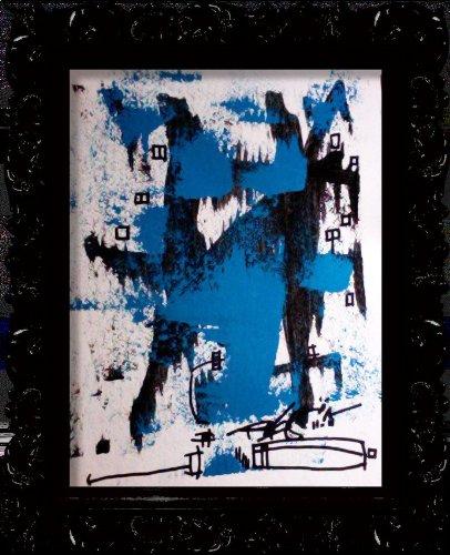 Blue Season Abstract Art