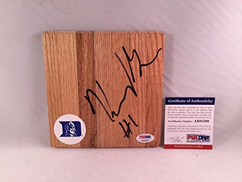 - Harry Giles Signed Duke Blue Devils Floor Board 2 - PSA/DNA Certified - Autographed College Floorboards