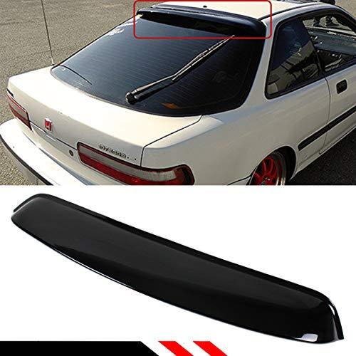 Cuztom Tuning Fits 1990-1993 Acura Integra JDM Smoked Tinted Rear Window Roof Visor Deflector ()