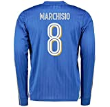 2016-2017 Italy Long Sleeve Home Shirt (Marchisio 8)