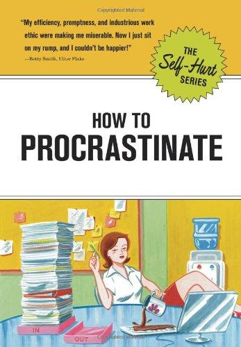 How to Procrastinate (Self-Hurt) pdf