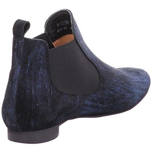 Think! Damen Guad_181296 Chelsea Boots schw.-kombi.