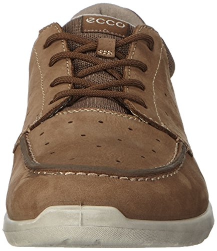 birch ECCO Uomo Calgary 59496 Mocassini Marrone Licorice x4TFw74q