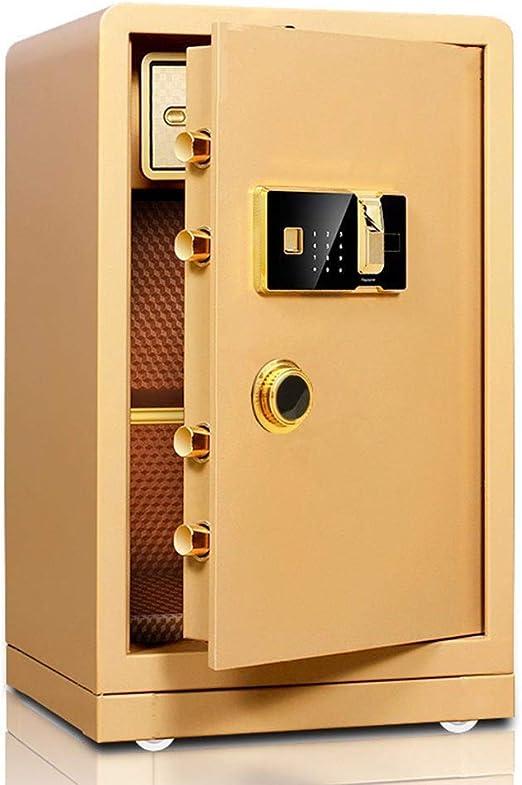 Caja Fuerte Sólida de acero biométrico de huellas dactilares caja ...