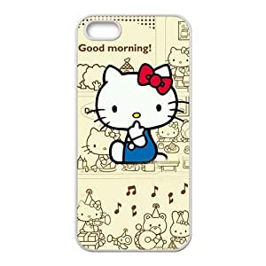 DAZHAHUI Hello kitty Phone Case For Iphone 6 Plus (5.5 Inch) Cover Case