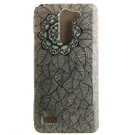 Pour LG L Bello D331 D335 D337 Coque,Ecoway Housse étui en TPU Silicone Shell Housse Coque étui Case Cover Cuir Etui Housse de Protection Coque Étui LG L Bello D331 D335 D337 –Multi-leaf flower