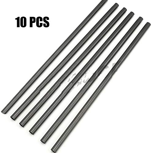 - Accessories 10PCS Hollow Carbon Tube Round Carbon Fiber Tube for RC Drone Boat Car Four-axis Rack Quadcopter Hexacopter Spare Parts DIY - (Color: 15cm)