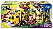 Teenage Mutant Ninja Turtles Out of the Shadows Turtle Tactical Truck Exclusive 4 Action Figure Vehicle [Exclusive Leonardo Figure]