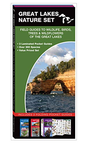 Great Lakes Nature Set: Field Guide to Wildlife, Birds, Trees & Wildflowers of the Great Lakes
