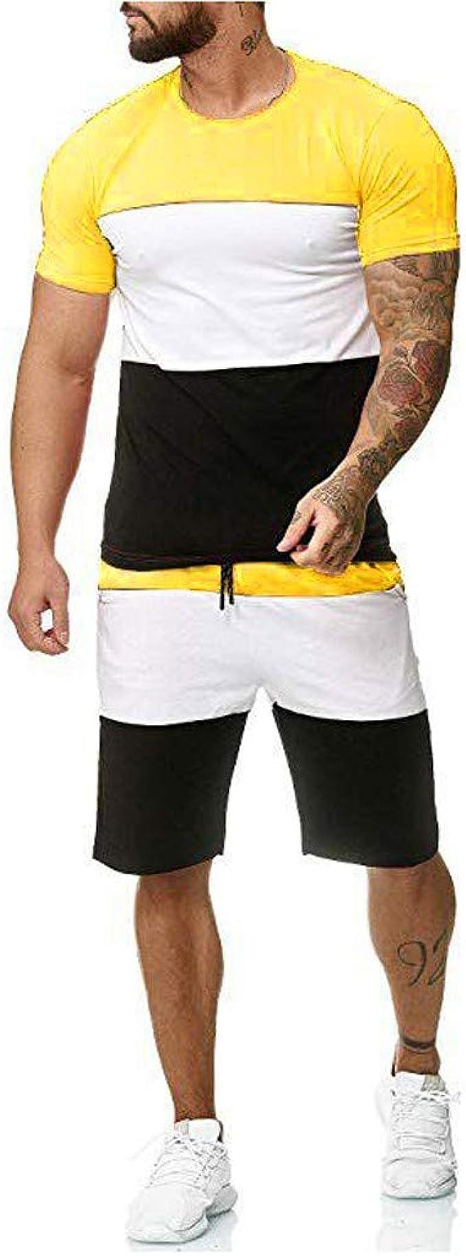 Holataa Chandal Hombre Completo Camiseta Manga Corta + Pantalones ...
