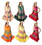 Wholesale Lot of 10 Tie Dye Sun Dress / Swimsuit / Beach Cover Up One Size