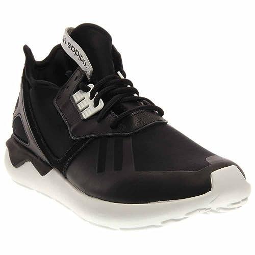 1e1eafe3d6d988 Amazon.com  Adidas Tubular Runner Black White B41272 (SIZE  10.5 ...