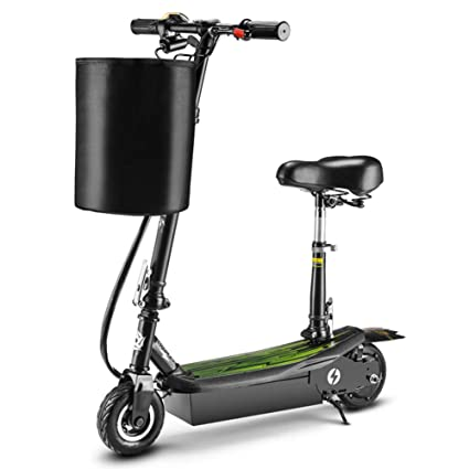 GREATY Patinete Scooter con Plegable Asiento, 15.5 mph Alta ...