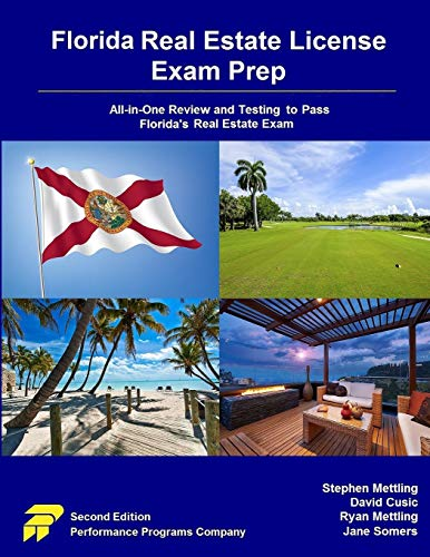 Pdf Law Florida Real Estate License Exam Prep: All-in-One Review and Testing to Pass Florida's Real Estate Exam