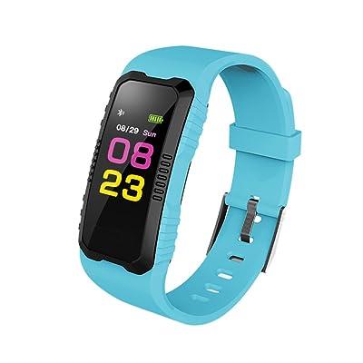 Aesy Smart Bracelet Sport Intelligent Fitness Tracker, 0.96 Pouces écran Podomètre Message Appel App Sédentaire Rappel Anti-perdu Lecteur de Musique, Sommeil-Bluetooth 3.0/4.0, Pour Android 5.0, IOS 8