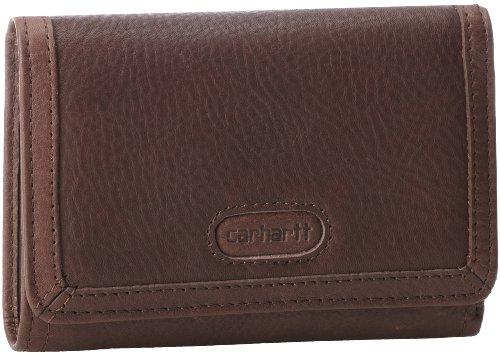 Carhartt Harper Wallet,Dark Brown,One Size, Bags Central