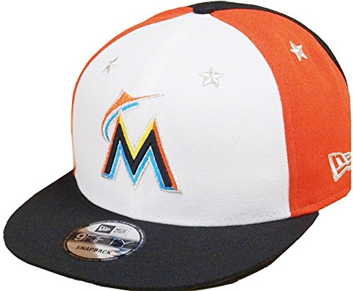 quality design fc4fc c2db7 ... official new era miami marlins 2018 mlb all star game 9fifty snapback adjustable  hat white 7e178