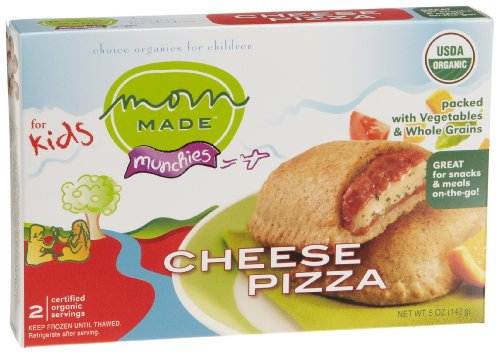 Mom Made Foods Cheese Pizza Munchie, 5-Ounce Boxes (Pack of 8)
