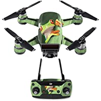 Skin for DJI Spark Mini Drone Combo - Froggy| MightySkins Protective, Durable, and Unique Vinyl Decal wrap cover | Easy To Apply, Remove, and Change Styles | Made in the USA