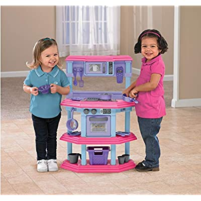 American Plastic Toys My Very Own Sweet Treat Kitchen Set: Toys & Games