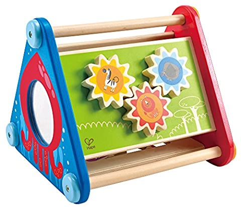 Hape Take-Along Wooden Toddler Activity Skill Building (Triangolo Attività)