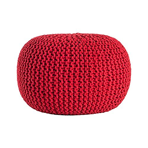 Knitted Pouf Amazon Best Knitting A Pouf