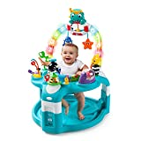 Baby Einstein 2-in-1 Lights & Sea Activity Gym and Saucer with Hypoallergenic Baby Wipes