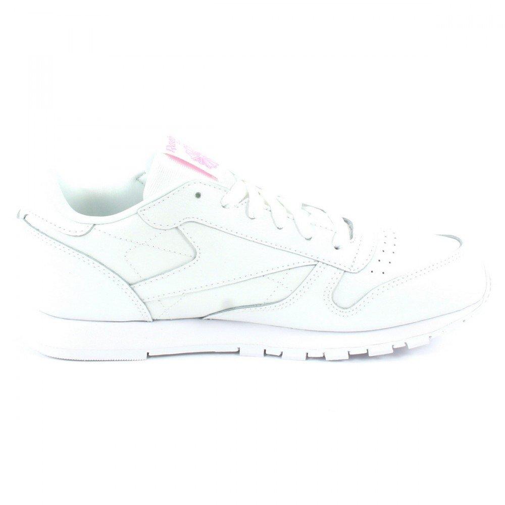 Reebok Classic Leder Metallic Sneaker Sneaker Sneaker Damen Weiß 766b3f