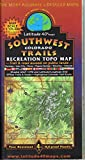 img - for Southwest Colorado Trails Recreation Topo Map book / textbook / text book