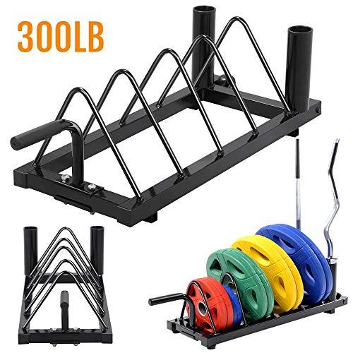 horizontal bumper plate rack - 2
