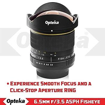 Opteka 6.5mm F3.5 Hd Aspherical Fisheye Lens & Removable Hood For Canon Eos 80d, 77d, 70d, 60d, 60da, 50d, 7d, T7i, T7s, T7, T6s, T6i, T6, T5i, T5, Sl2 & Sl1 Digital Slr Cameras 11