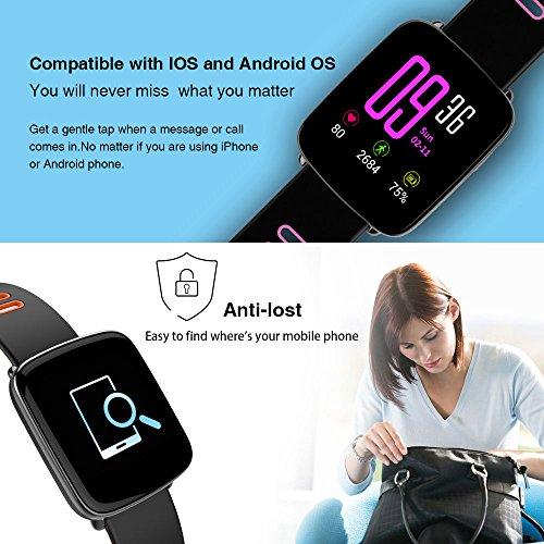 Giantree GV68 Smartwatch IP68 Bluetooth 4.0 Pantalla 1,54 ...