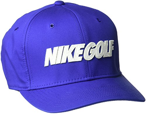 Nike Golf Hat (NIKE Unisex Classic 99 Washed Hat, Deep Night/White, One Size)