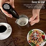 SIMPLETaste Milk Frother Handheld Battery Operated