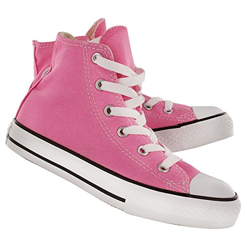 CONVERSE ALL STAR CHUCK TAYLOR HI TOP PINK 3J234 UNISEX SHOES US YOUTH SIZE - Converse 3 Size Youth