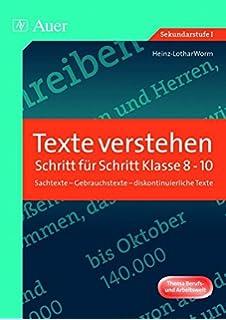 Training Textaufgaben Deutsch, Klasse 9/10: Amazon.de: Otto Mayr: Bücher