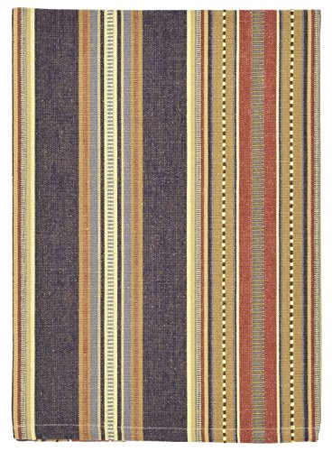 blue and brown dish towels - 7