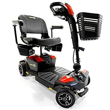 Amazon.com: Pride Jazzy Zero Turn 4-Wheel Travel Mobility ...