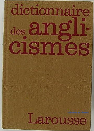 Livre gratuits Dictionnaire des anglicismes                                                                  121297 pdf, epub ebook
