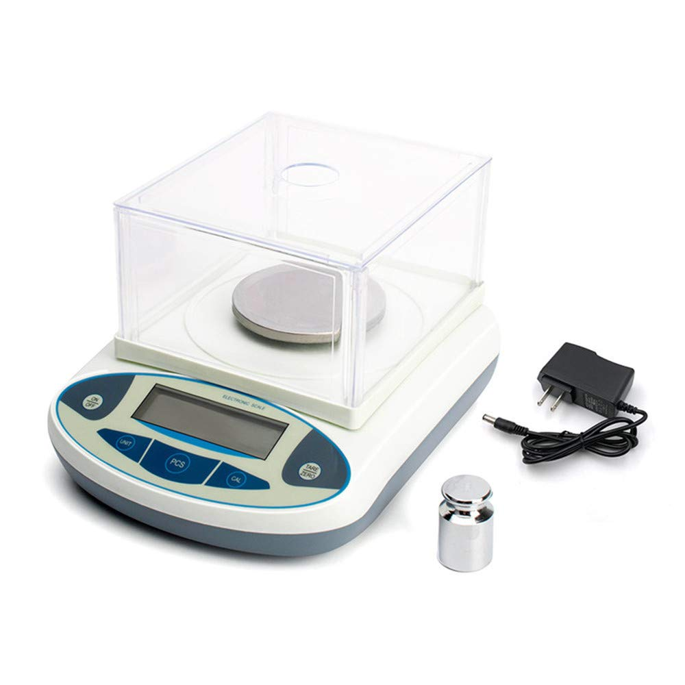 CGOLDENWALL High Precision Lab Digital Precision Analytical Balance Lab Scale 1mg Precision Electronic Balance Jewelry Scales Kitchen Precision Weighing Electronic Scale Calibrated (500g, 0.001g) by CGOLDENWALL