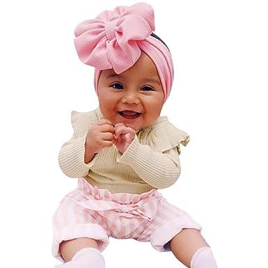 MAYOGO Conjuntos de Ropa para bebés niña Mameluco Punto de ...