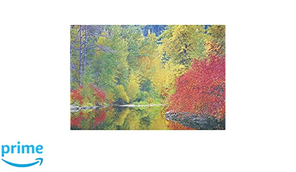 25 9.75x14in. Autumn Scene Paper Placemats