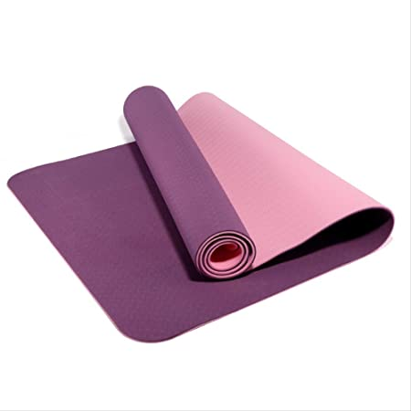 zfq Principiante TPE Yoga Pad 6mm Fitness Pad, Flat Support ...
